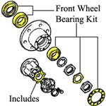 * Wheel Bearing Kit