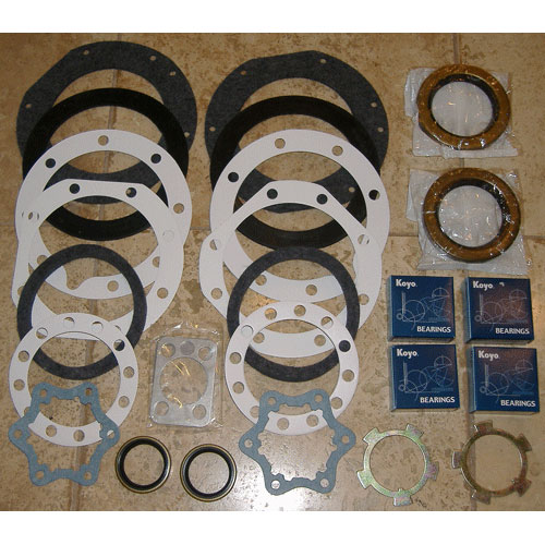 Knuckle Rebuild Kit, 68-75 FJ40 45 55 HJ45 BJ40