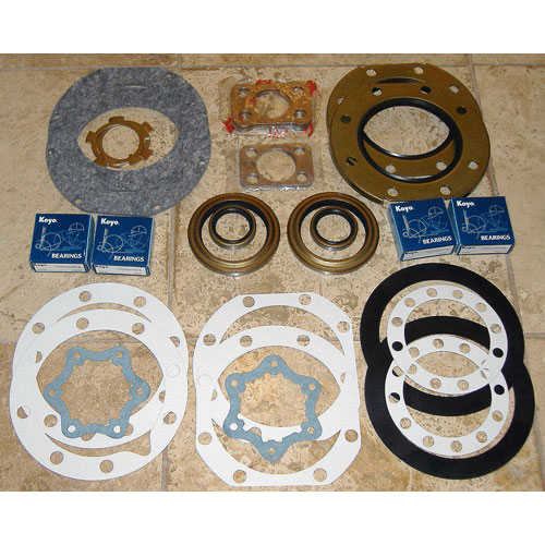 Knuckle Rebuild Kit, 79-92 FJ4# HJ45 47 BJ40 42 & 60 Series