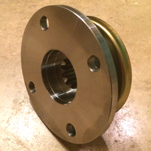 41204-35020 41204-35021 Flange, Transfer Output
